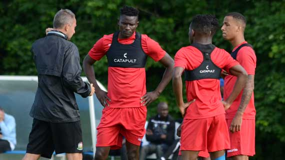 Harambee Stars full squad in Paris as Olunga joins