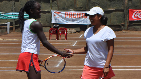 Mbaya walking tall after junior tennis championships