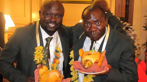 Heroic salute for retired Kenyan Cricketer Steve Tikolo