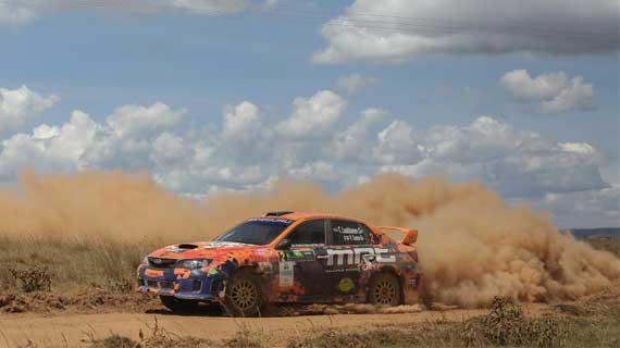 Tapio Laukannen eyes  overall  title as  rally action heads to Kitengela