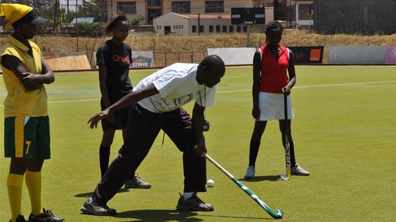 Telkom Orange Coach roots for exposure tournaments