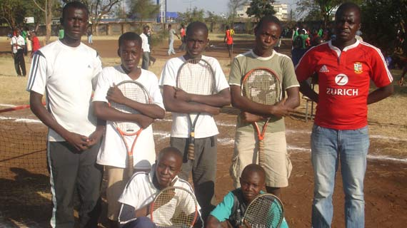 Offer tennis scholarships to talented students - Agwanda