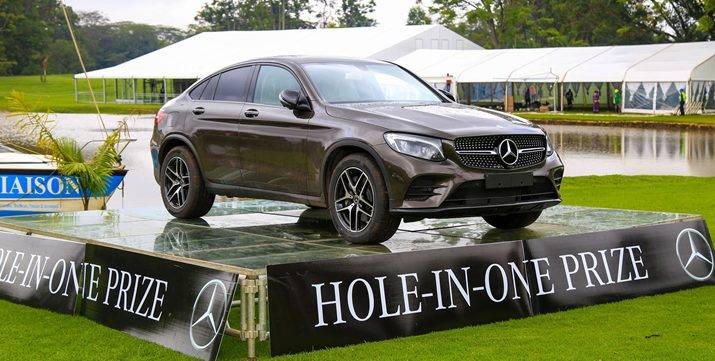 Kenya Open: Mercedes Benz Hole-In-One Prize