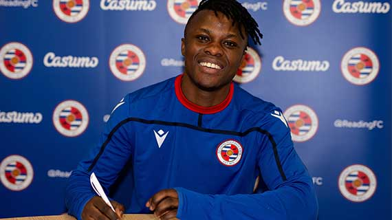 Ayub Timbe joins Reading FC