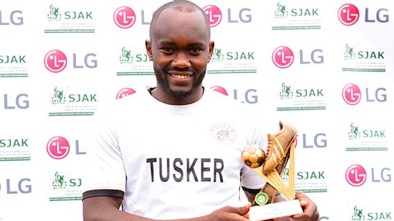 Tusker's Timothy Otieno clinches November KPL award