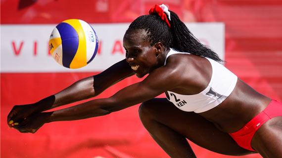 Kenya, Rwanda fall in world beach volleyball opener