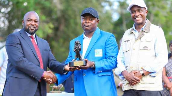 South Africa's Toto Thimba wins Karen Masters