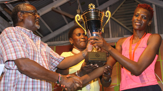 Trizah Atuka , Jairus Bett MVPs after Mombasa  playoffs