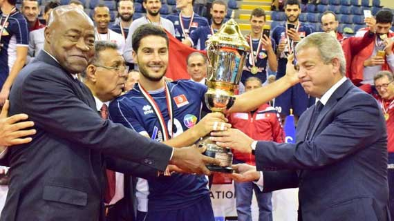 Tunisia clinch Africa volleyball title