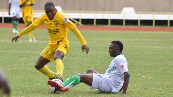 Tusker Blank Oserian To Take Control Of League Table