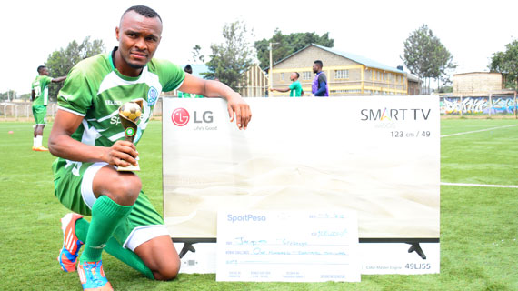 Tuyisenge named June KPL player of the month