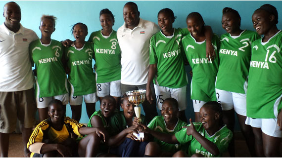 Kenya U-20 handball team off to Djibouti