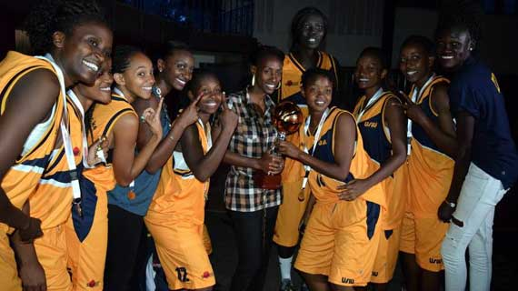 USIU Flames are the new Kenya Basketball Queens