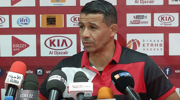 USM Alger coach happy with point against a  good Gor
