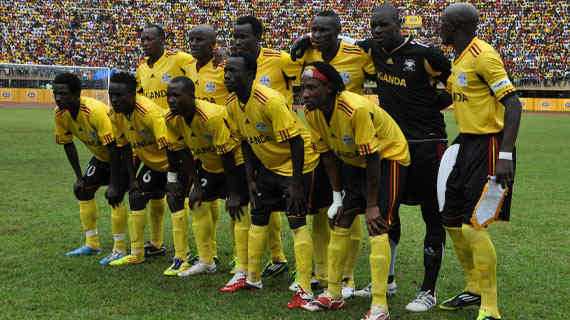 Uganda Cranes beat Ghana in AFCON 2015 qualifier
