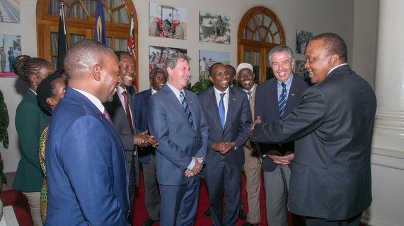 Kenya breaks ground for Ksh 1 Billion Tennis Center