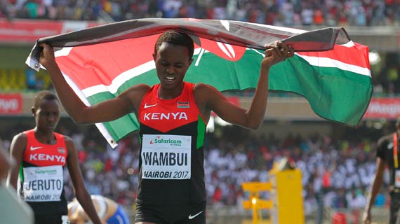 Wambui, Jeruto electrify Kasarani with 1-2 800m finish