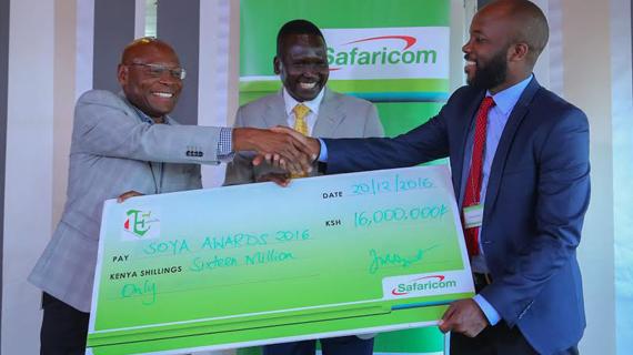 Safaricom boosts SOYA awards with KES 16 million sponsorship