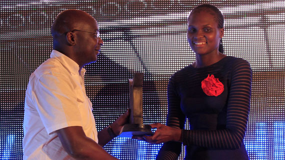 Edith Wisa wins Overall Magharibi Michezo Awards crown