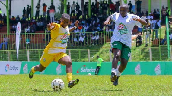 Wiyeta Girls , Laiser Hill are Rift Valley Chapa Dimba Champions