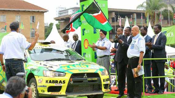 Safari Rally officially flagged off