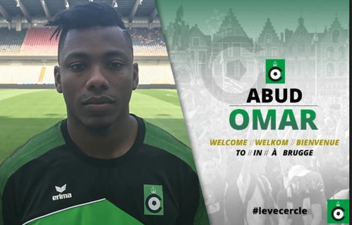 Aboud Omar joins top Belgian side Cercle  Brugge