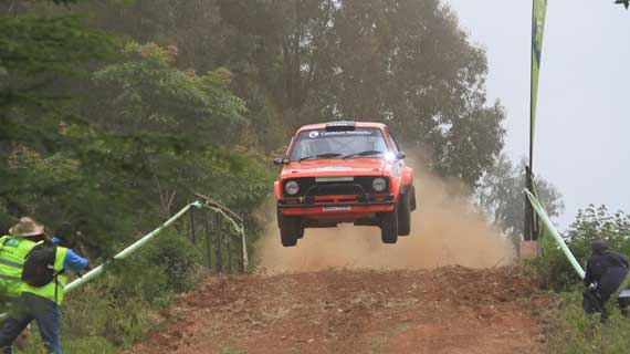 Rally action heads to the Home of Champions