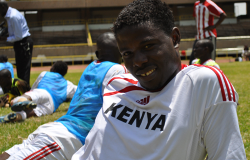 Allan Wanga scores in his debut V-League match for HAGL