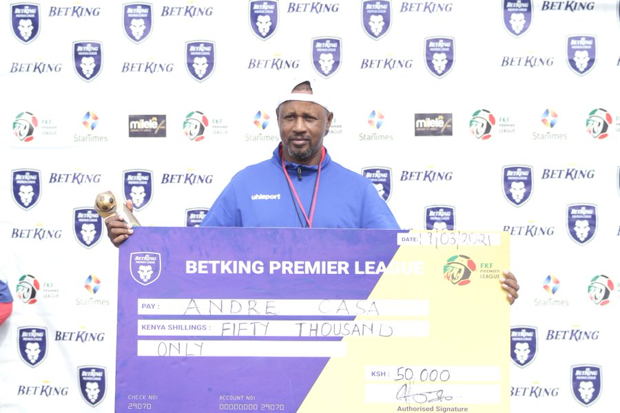 Casa Mbungo is February's coach of the month