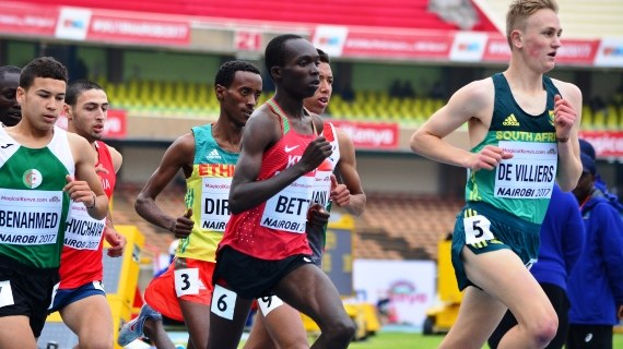 Bett, Meyan sweep 2000m steeplechase medals