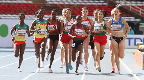 Its Gold and Silver for Kenya in girl's steeplechase