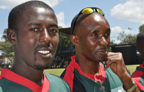 Kenya cricket team jets into Sri Lanka
