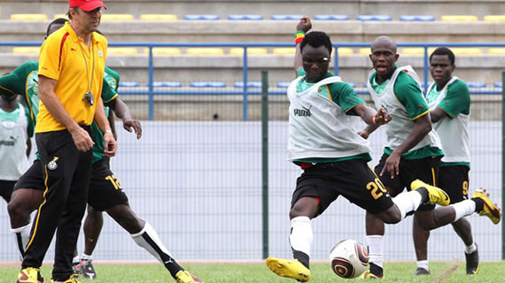 Ghana's U-23 soccer team transit through Nairobi