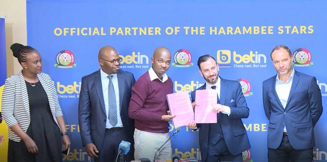 FKF unveils Betin as new partner