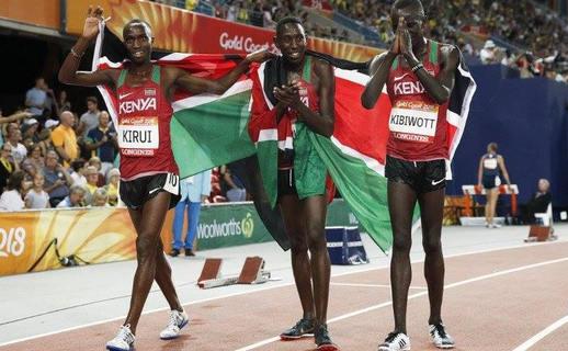 Kipruto leads Kenyan 3,000m steeplechase podium sweep