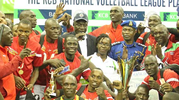 Prisons, GSU win KVF titles at Kasarani