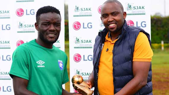 Top Scorer John Makwatta leaves AFC for Zambia