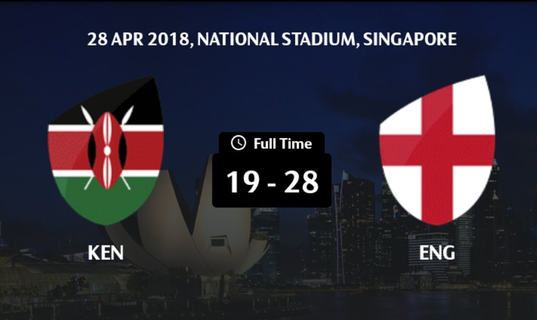 Losing start for Kenya 7s  in Singapore Sevens