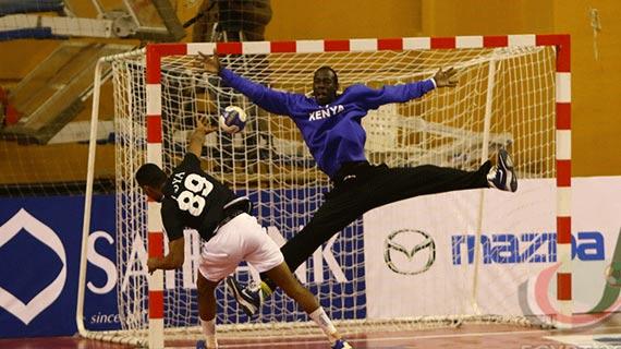 Winning start for Kenya in U-20 Handball championships