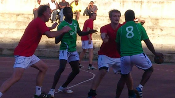 Denmark Select beats Kenya in handball exhibition match