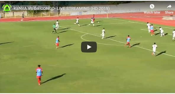 Kenya vs DR Congo Live
