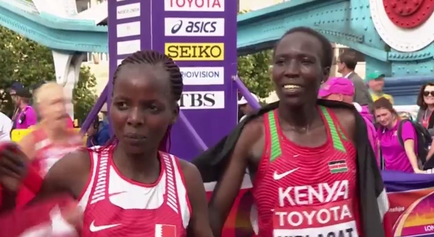 Edna Kiplagat bags silver in World Championship Marathon