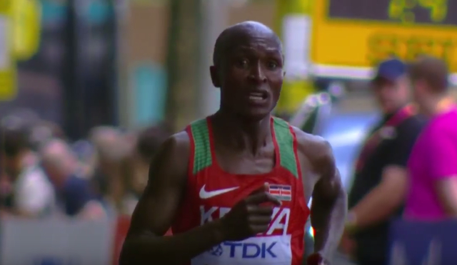 Kirui wins Gold in IAAF World Championship marathon