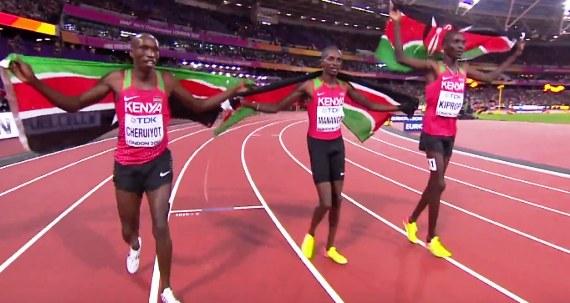 Manangoi, Cheruiyot  win Gold and Silver in 1500m