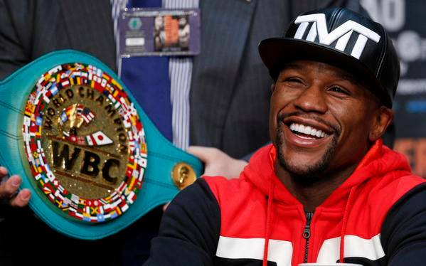 Mayweather pockets over 100 Million dollars