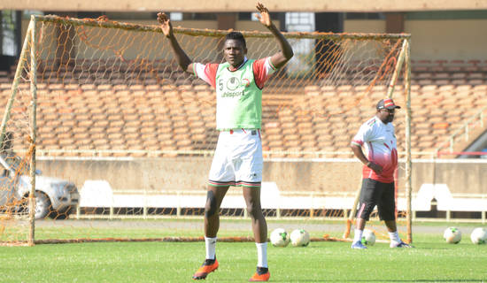 Olunga rallies fans to come out and support Stars
