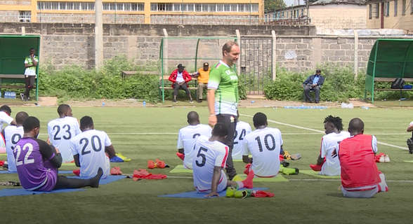Migne : More call-ups and Harambee Stars training coming