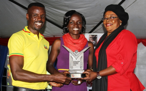 Hockey Queen Ommala scoops top honours at Magharibi Awards