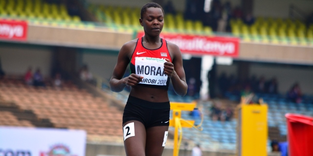 Mary Moraa bags historic 400m Silver
