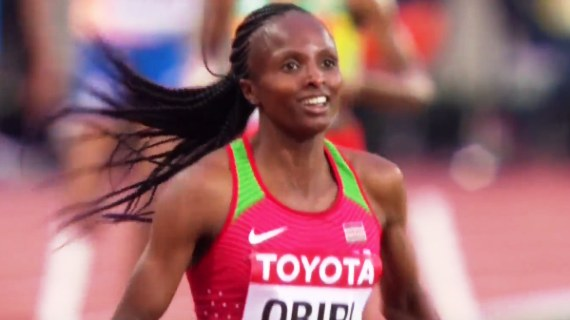 Hellen Obiri no match for strong Dibaba in Birmingham